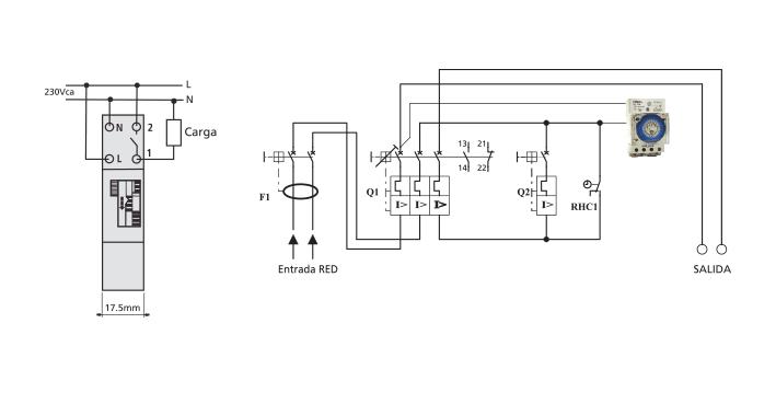 Interrupt horario anal gico ts gm1 interruptores tbcin - Temporizadores de luz ...